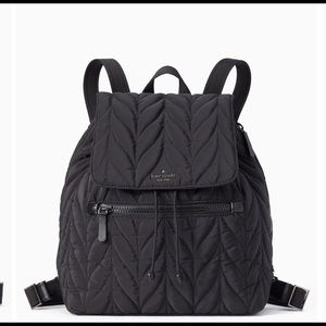 NWT Kate spade quilted Backpack